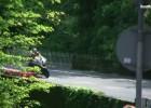Piotr Betlej w akcji - superbike na Wyspie Man