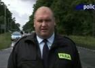 Policja i motocykle - reklama bezpieczeństwa