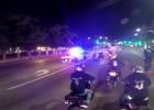 Policja sciga grupe motocyklistow