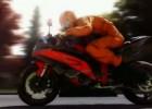 Rejean Neron zaprojektował bezpieczny kombinezon motocyklowy