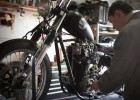 Samoobsługowy warsztat - motocyklowy Facebook w realu