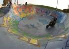 Skatepark w Marsylii - Boulon Yamachą na rampie
