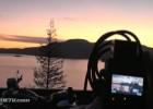 Sky Highway pomiędzy Porteau Cove and Lions Bay w Kanadzie - V-Rod w podróży