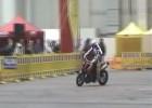 Stunt na KTMie Super Duke 990