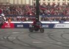 Stunt na Verva Street Racing w stolicy - video by WasikTV