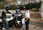 Stunt na torze Barber Motorsports Park - Brocha, Vigil i DiSalvo w akcji