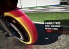 Symulacja pracy ogumienia Pirelli na torze Monza