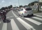 Tour de Pologne 2011 - praca Marshalla zaraz po zabraniu się z wysepki