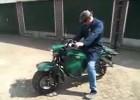 Traktor-motocykl, czyli EcoRider z silnikiem diesela