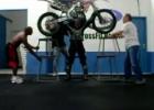 Trening z motocyklem