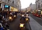 WOŚP 2014 - parada motocykli w Londynie