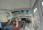 Wnętrze Trabanta z silnikiem GSX-R 750