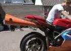 Wydech wuwuzela w Ducati 1198S