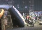 Wypadek FMX - Levi Sherwood uderza w rampę