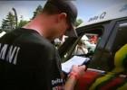 Wypadek Rafała Sonika na pierwszym etapie Rajdu Dakar 2011
