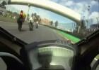 Wypadek motocyklowy podczas Pirelli Superbike Championship