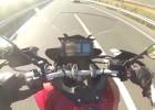 Yamaha MT-09 Tracer - 200+ kmh - test prędkości