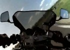 Yamaha TRX 850 - amator na torze Lublin
