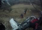 Yamaha wr450 backflip + 3 rolki ;) Enduro Krzeszowice