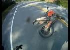 Zderzenie motocyklem z dziką zwierzyną