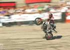 Stunter13 Rafał Pasierbek - finałowy przejazd na Extrememoto 2010