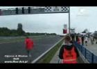 Marcin Wilk wypadek na starcie bmw cup