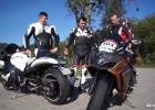 2 motocykle, 1000 koni w mieście, Suzuki GSX-R i Hayabusa Turbo