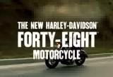 Harley Davidson 48 - custom czy cafe racer