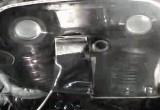 Uklad rozrzadu silnika w motocyklu sportowym podczas pracy