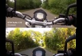 KTM 125 Duke kontra KTM 200 Duke 0-100 kmh