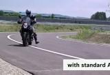 Kontrola trakcji ABS vs MSC - przednie kolo
