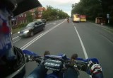 Piatka przybita w trakcie jazdy motocyklem