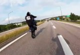 Ride All Day - stunt na supermoto