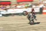 Stunter13 Rafal Pasierbek - finalowy przejazd na Extrememoto 2010
