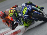 MotoGP na torze Silverstone - deszczowa galeria zdj��