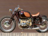 BMW R75 Brown Betty custom - dzieło sztuki od Tom's Garage