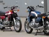 Suzuki GT 750 J i GT 750 K  - klasyki Moto Ventus z Elbląga na zdjęciach