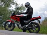 Honda CBF125 przerwa z