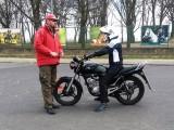 Tomek Kulik zajecia w szkole na 125cc z