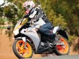 Honda CBR125 2011 akcja z