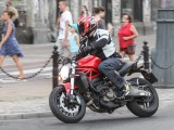 Ducati w miescie zapewnia nie tylko mobilnosc ale tez radosc z jazdy z
