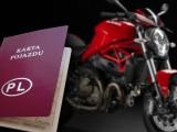 karta pojazdu Ducati z
