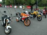 Honda Piknik motocyklowy na bloniach Narodowego z