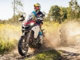 Ducati Multi Tour 2016 offroad w kaluzy z
