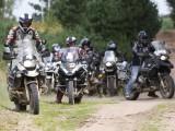 grupa motocyklistow BMW GSTrophy 2016 Dadaj z