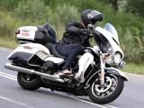 Harley Davidson Electra Glide Ultra Classic 2014 zakrety z