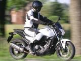 Honda NC750S ABS jazda z