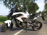 Honda NC750X w akcji - fotogaleria