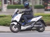Honda Forza 125 2015 na drodze z