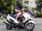 Suzuki Burgman 125 MY 2014 Warszawa z